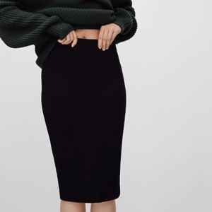 Aritzia Wilfred Lis Pencil Skirt